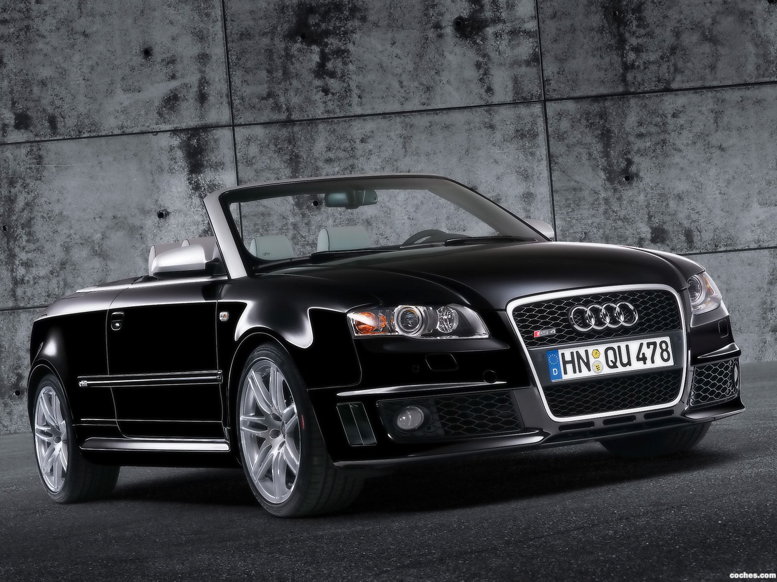 fotos de audi rs4 cabriolet b7 2006. Black Bedroom Furniture Sets. Home Design Ideas