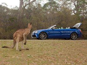 Ver foto 10 de Audi RS5 Cabriolet Australia 2014