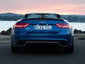 Ver foto 4 de Audi RS5 Cabriolet Australia 2014