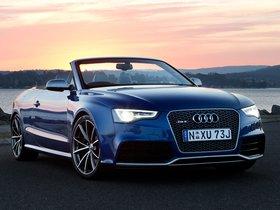 Fotos de Audi RS5 Cabriolet Australia 2014