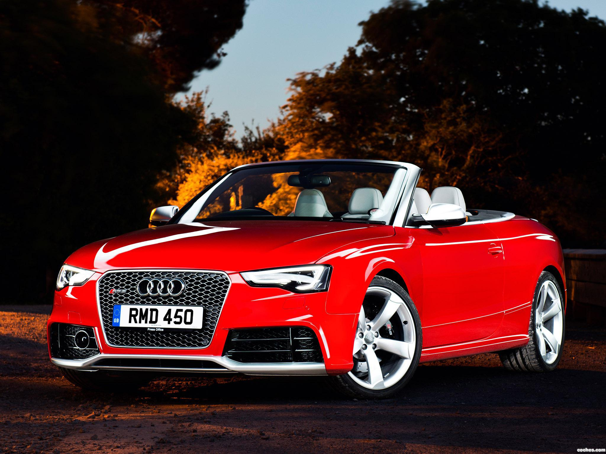 Foto 0 de Audi RS5 Cabriolet UK 2013