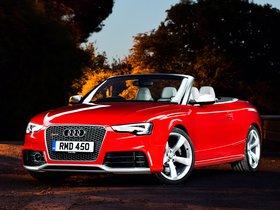 Fotos de Audi RS5 Cabriolet UK 2013
