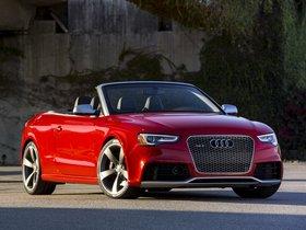 Ver foto 7 de Audi RS5 Cabriolet USA 2013
