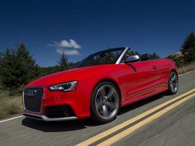 Ver foto 3 de Audi RS5 Cabriolet USA 2013