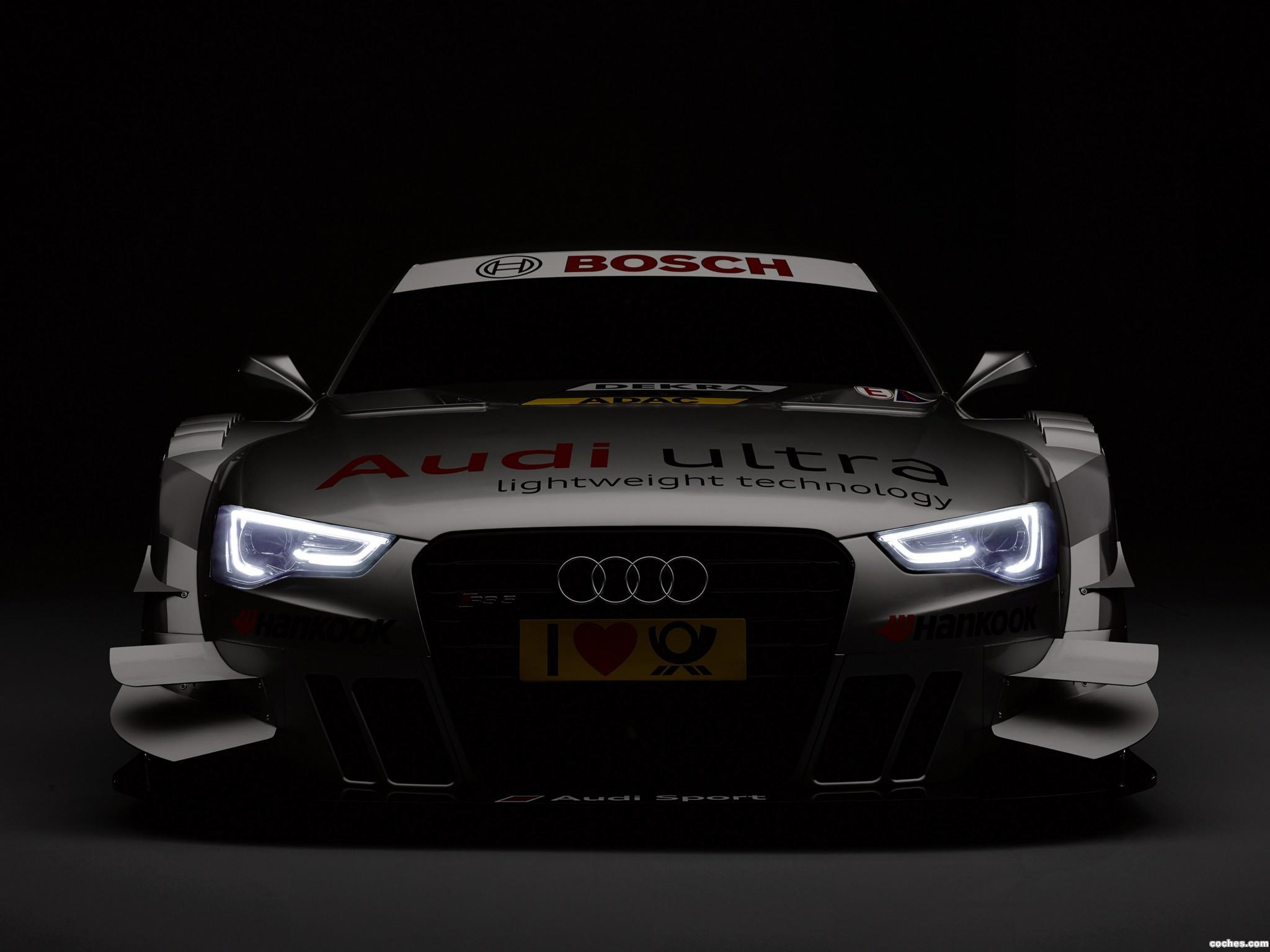 Foto 0 de Audi RS5 Coupe DTM Race Car 2013