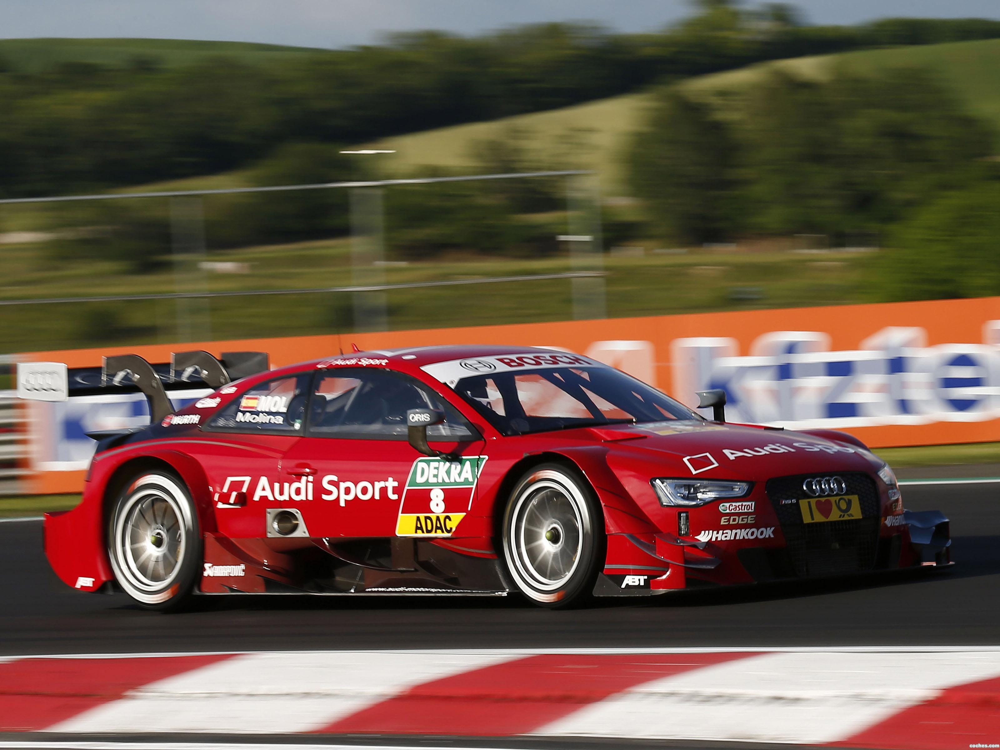 Foto 9 de Audi RS5 DTM 2014