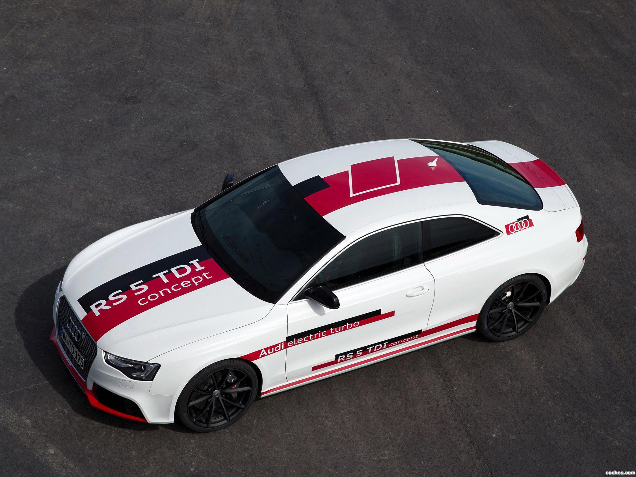Foto 13 de Audi RS5 TDI Concept 2014