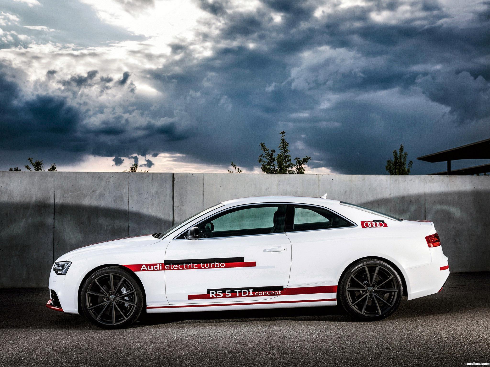 Foto 12 de Audi RS5 TDI Concept 2014
