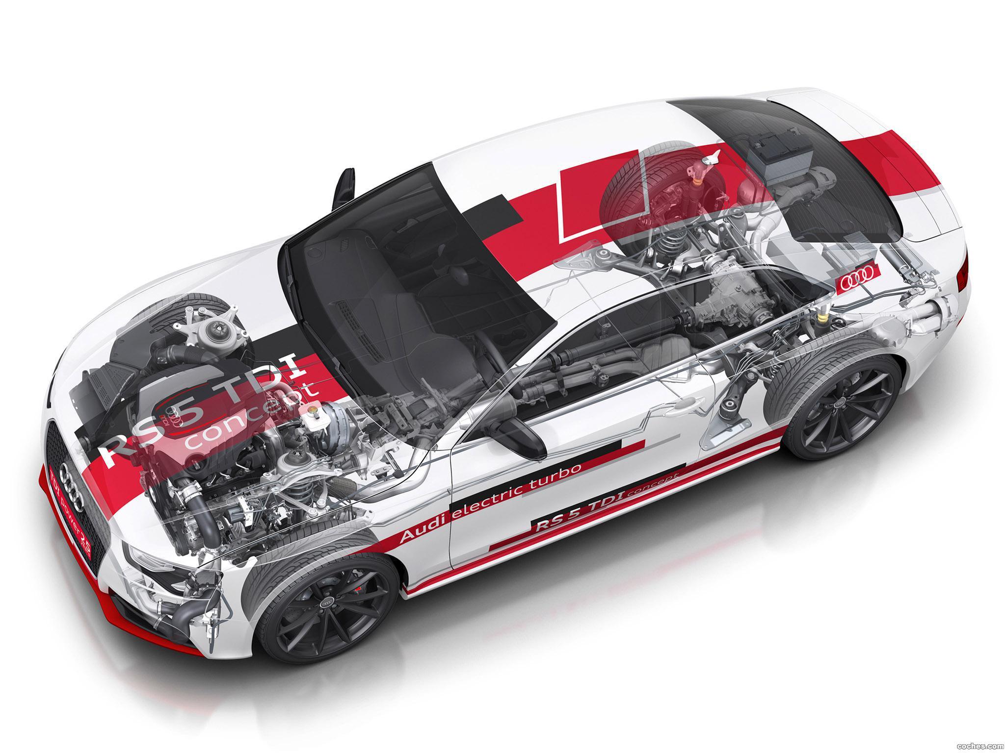 Foto 8 de Audi RS5 TDI Concept 2014