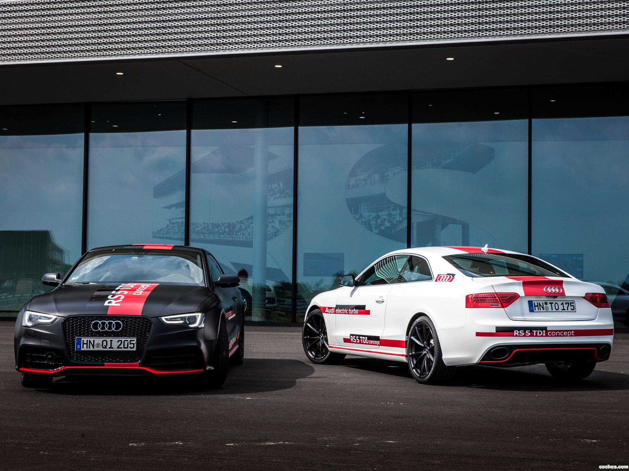 Foto 6 de Audi RS5 TDI Concept 2014