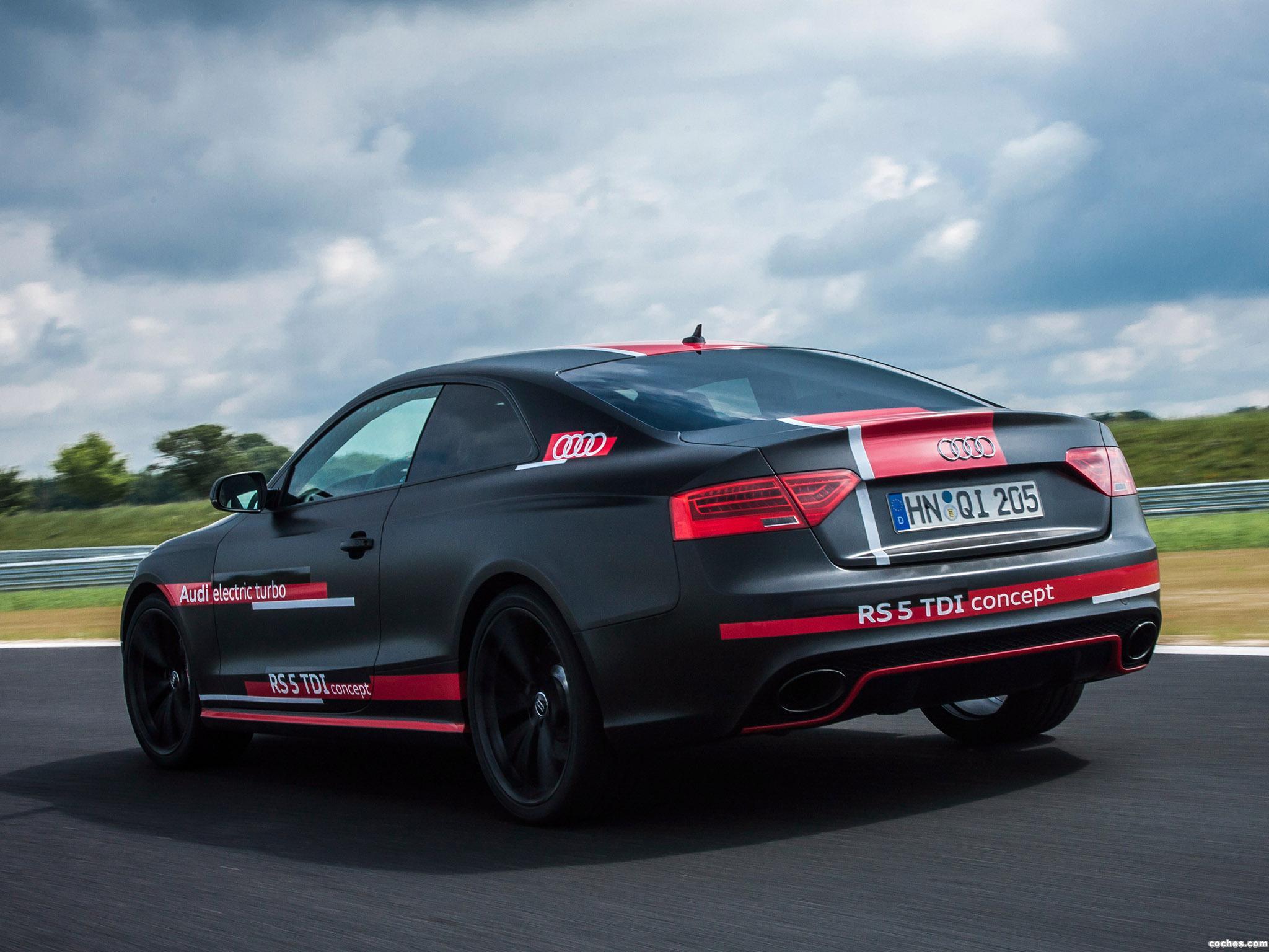 Foto 4 de Audi RS5 TDI Concept 2014