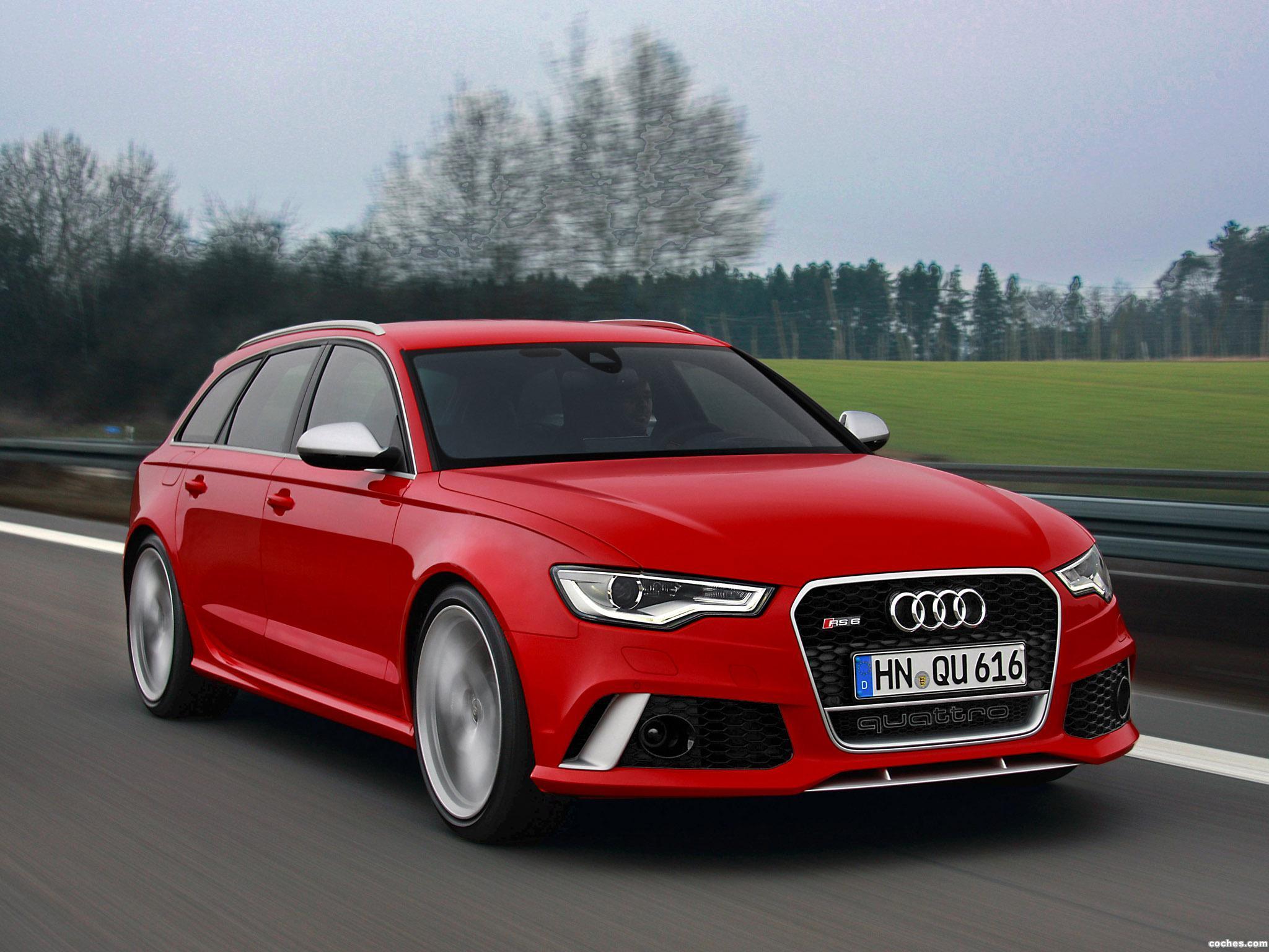 Foto 1 de Audi RS6 Avant 2013