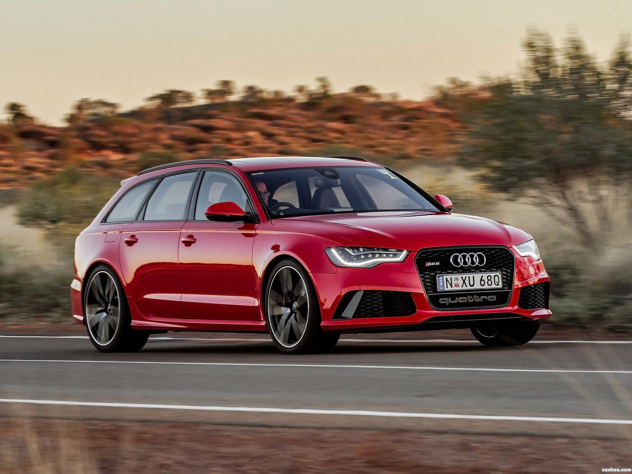Foto 13 de Audi RS6 Avant Australia 2013