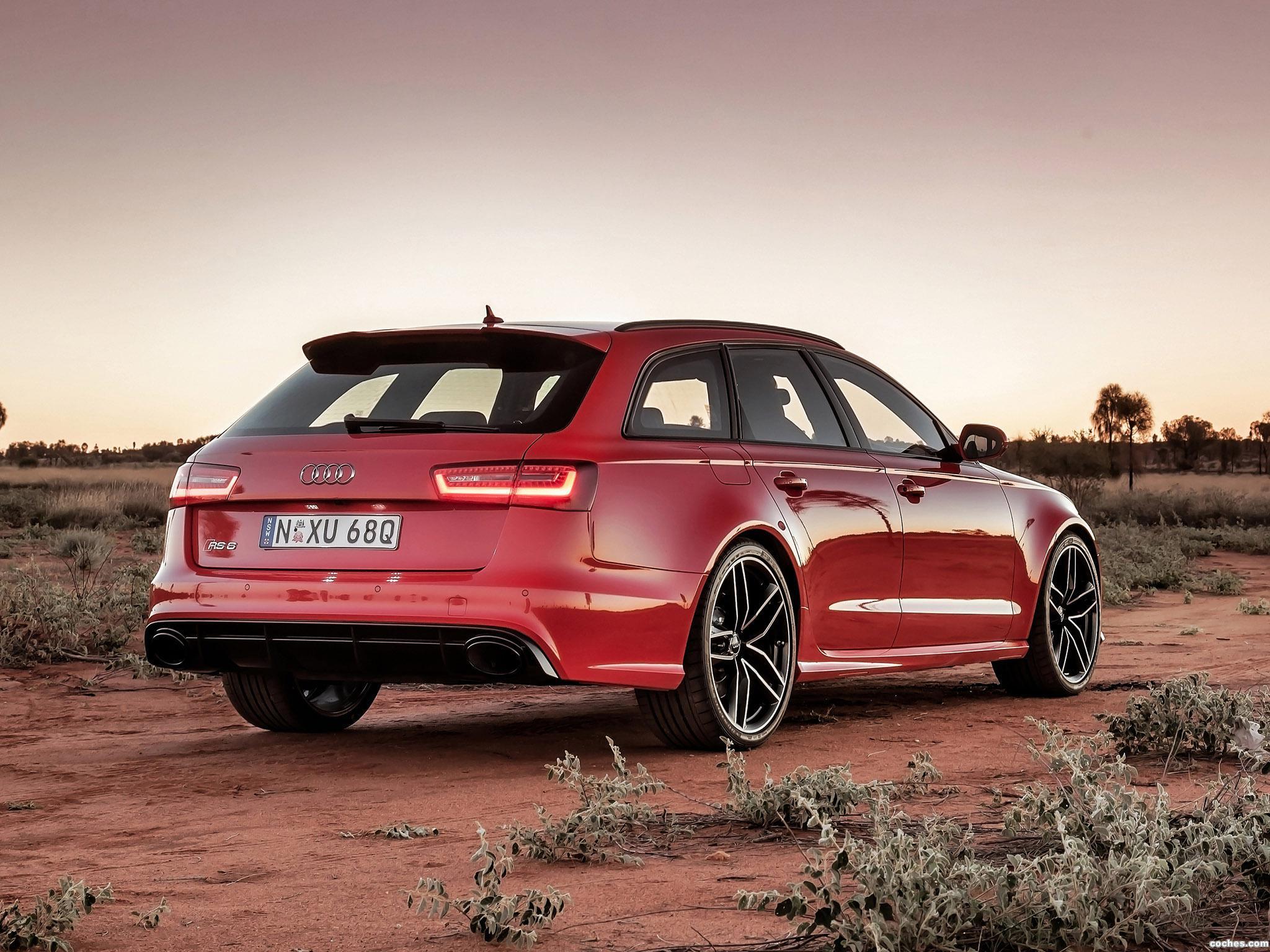 Foto 12 de Audi RS6 Avant Australia 2013