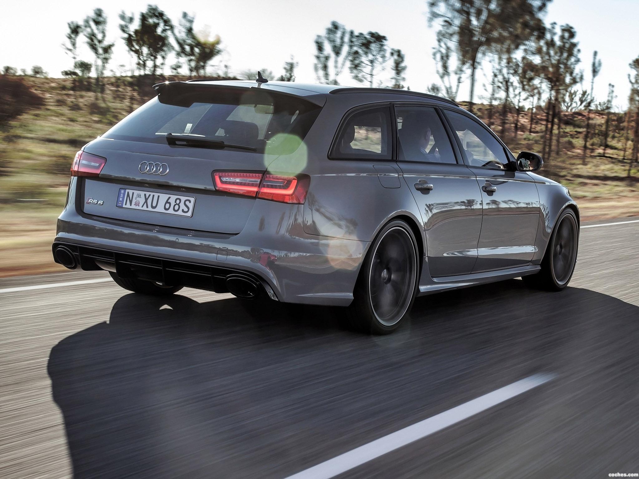 Foto 8 de Audi RS6 Avant Australia 2013