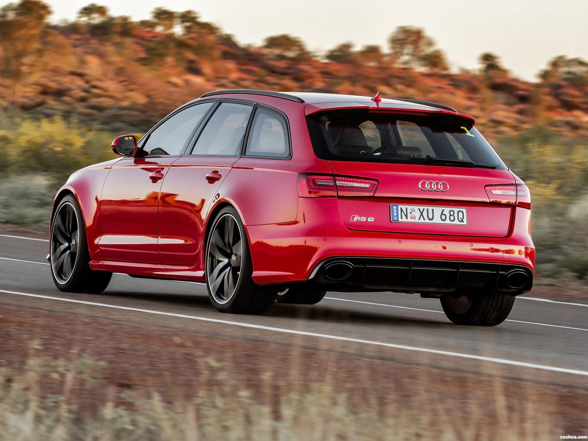 Foto 7 de Audi RS6 Avant Australia 2013