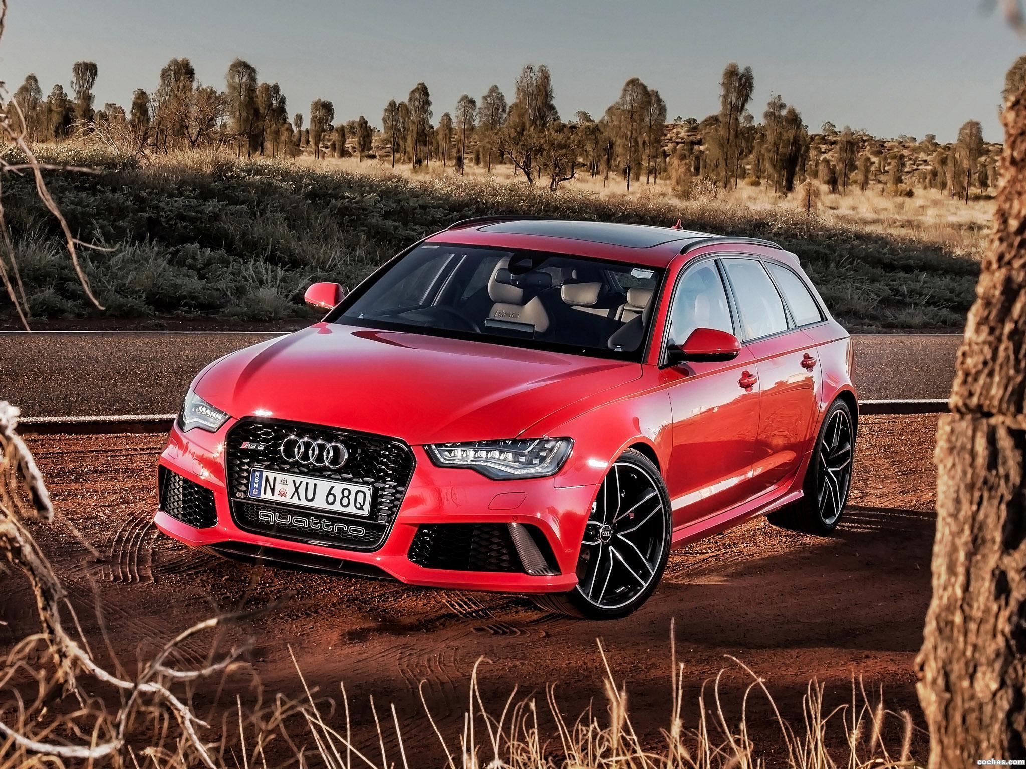 Foto 0 de Audi RS6 Avant Australia 2013