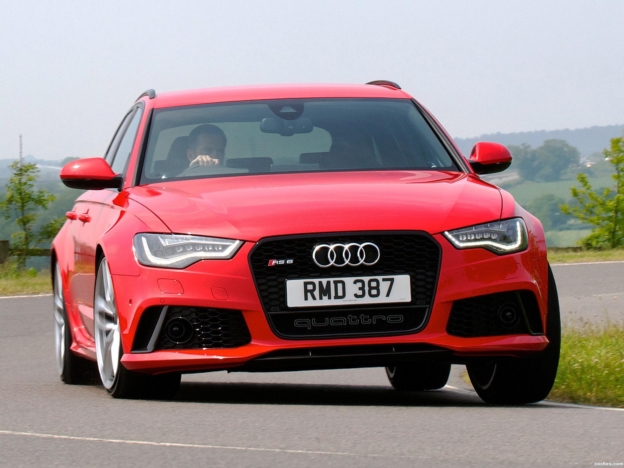 Foto 0 de Audi RS6 Avant UK 2013