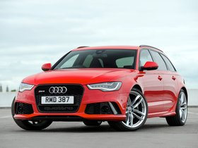 Ver foto 3 de Audi RS6 Avant UK 2013