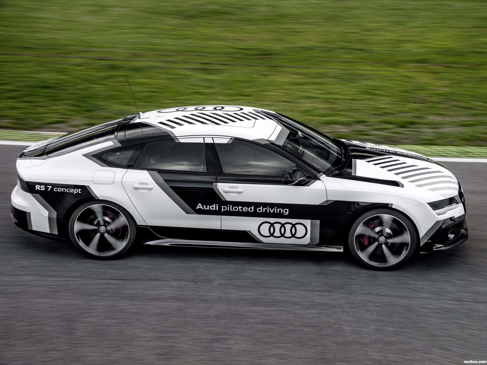 Foto 10 de Audi RS7 Piloted Driving Concept 2014