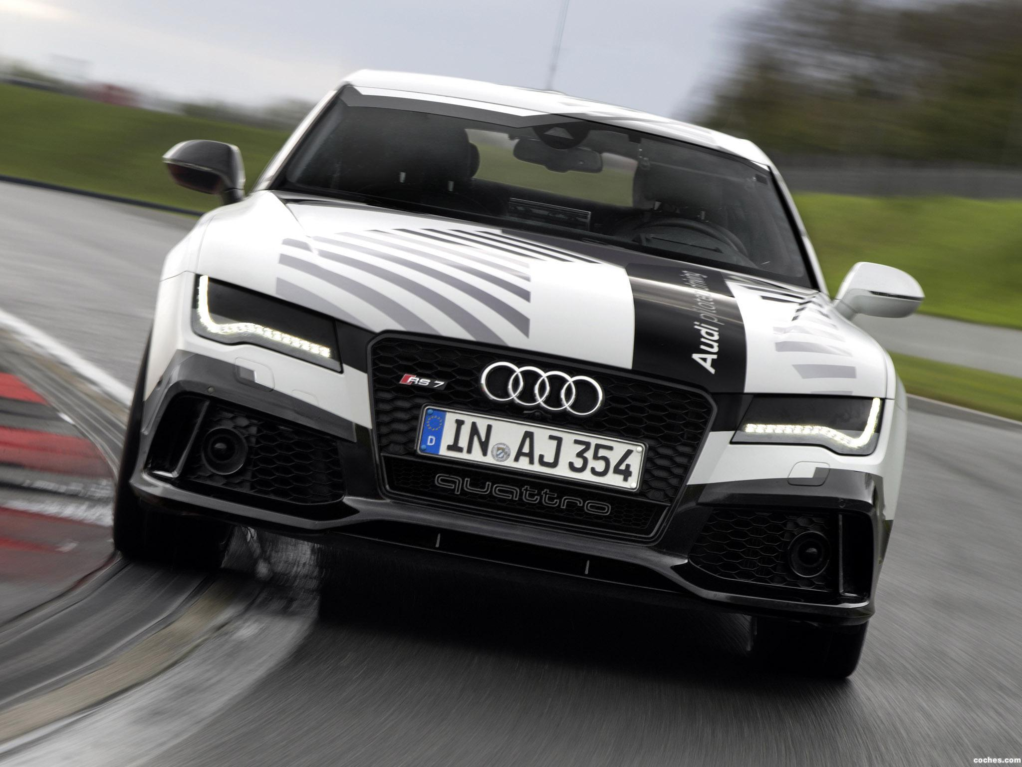 Foto 6 de Audi RS7 Piloted Driving Concept 2014