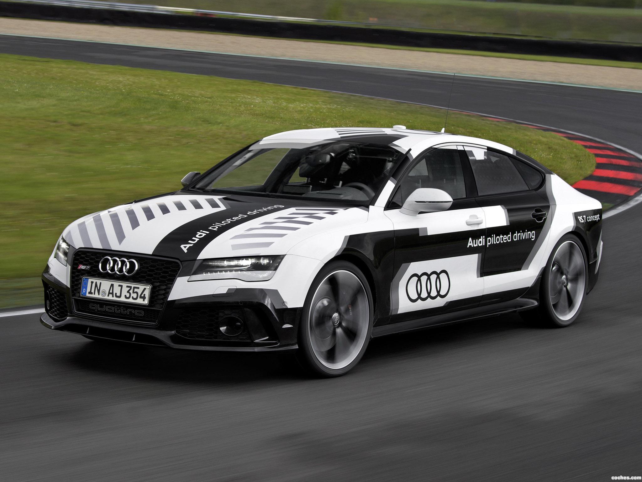 Foto 5 de Audi RS7 Piloted Driving Concept 2014