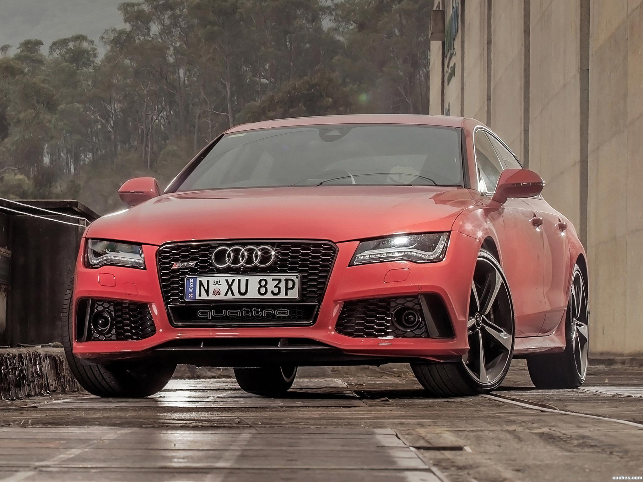 Foto 0 de Audi RS7 Sportback Australia 2014