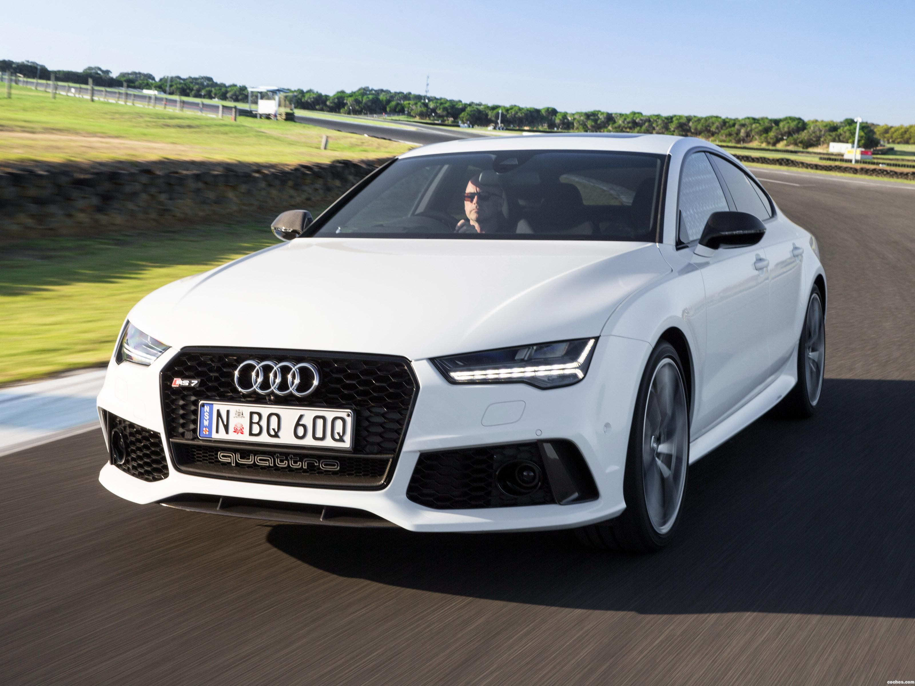 Foto 0 de Audi RS7 Sportback Performance Australia 2016