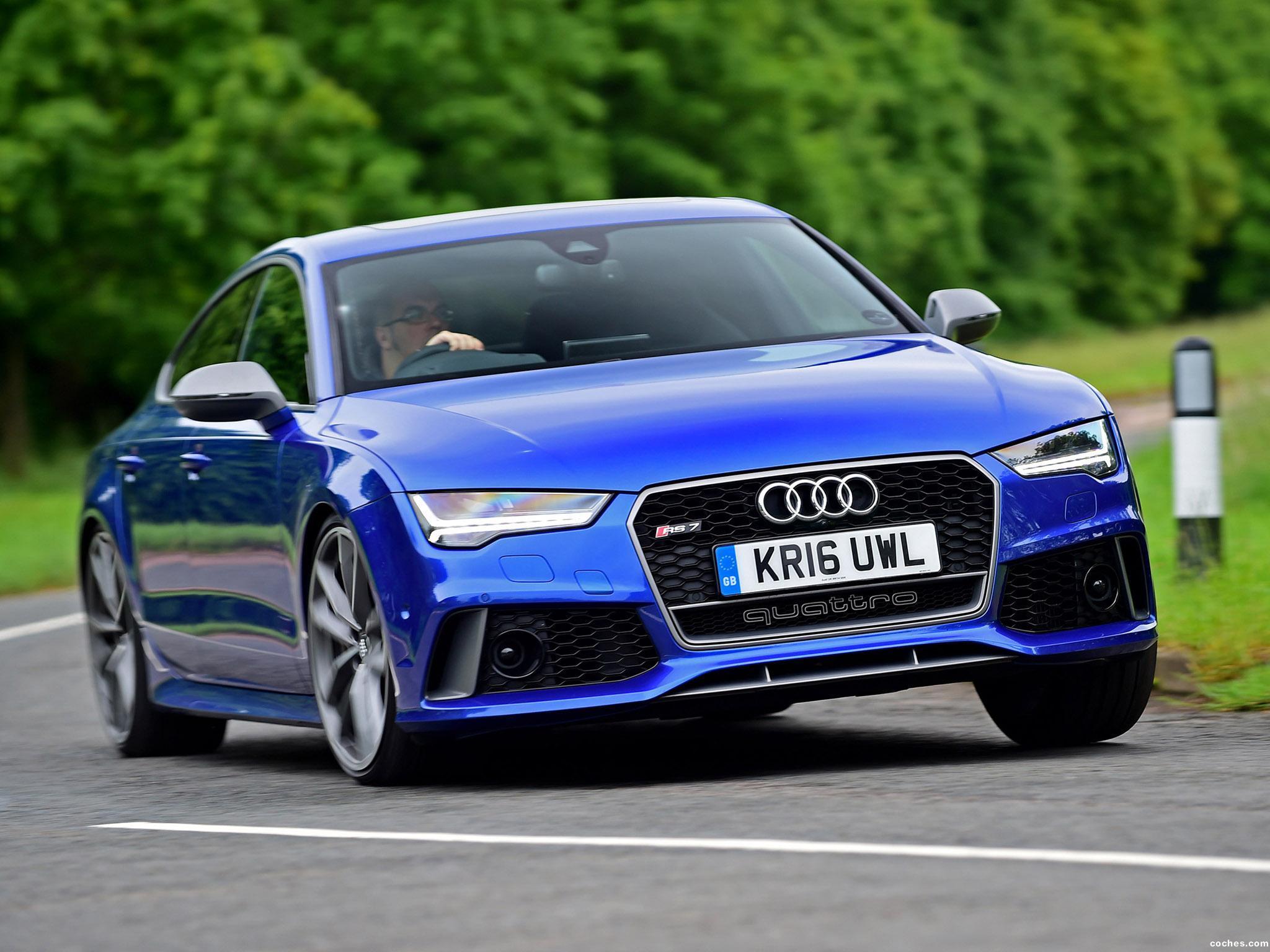 Foto 0 de Audi RS7 Sportback Performance UK 2016