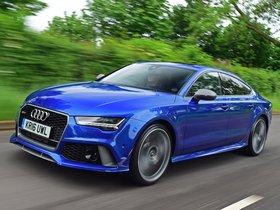 Ver foto 4 de Audi RS7 Sportback Performance UK 2016