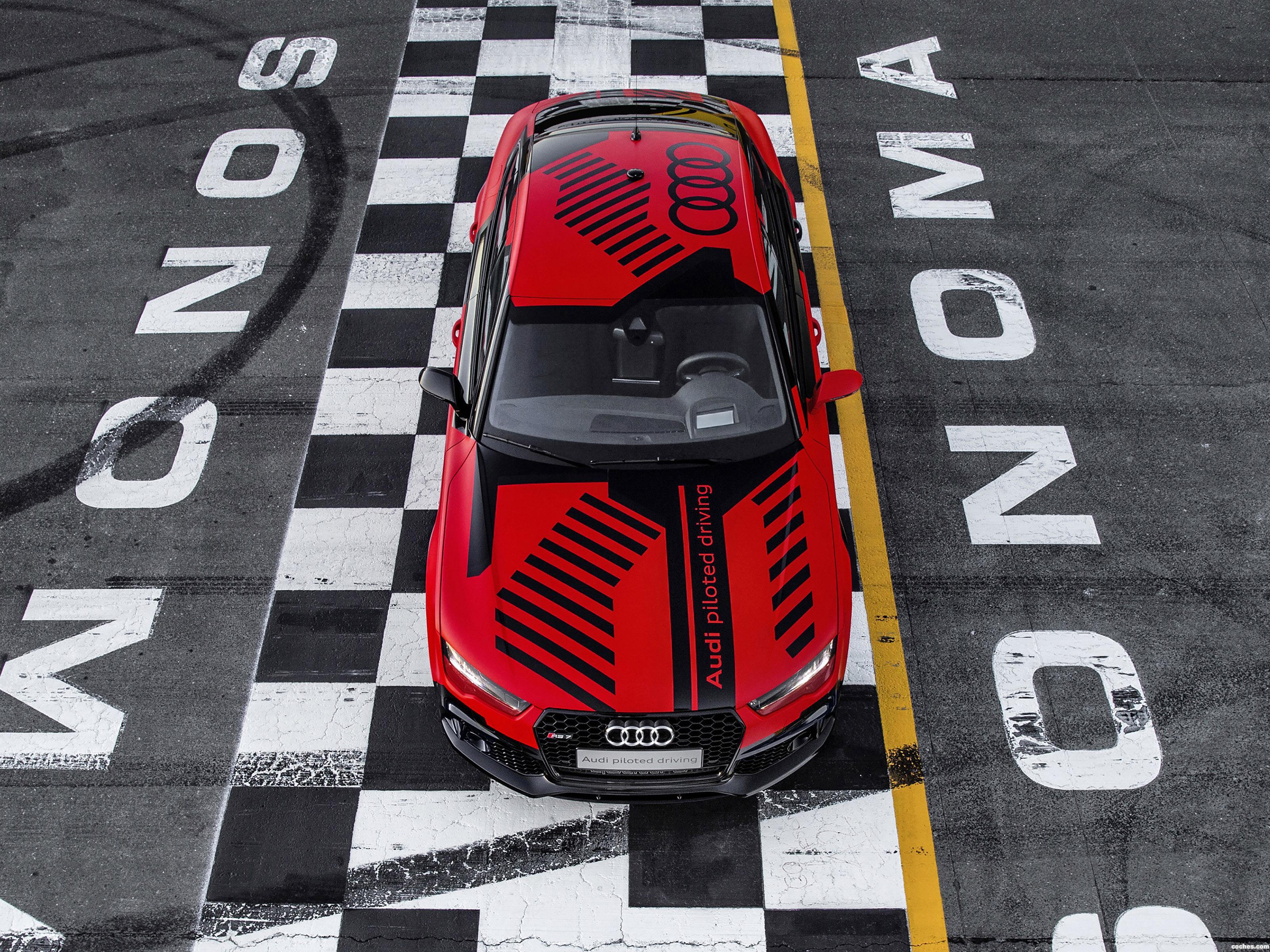 Foto 0 de Audi RS7 Sportback Piloted Driving Concept 2015