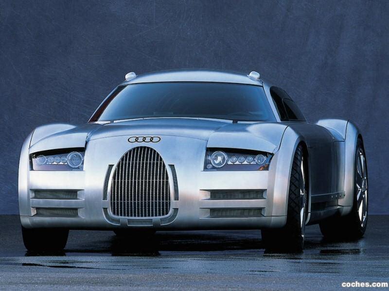 Foto 0 de Audi Rosemeyer Concept 2000