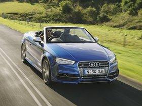 Fotos de Audi S3 Cabriolet Australia 2014