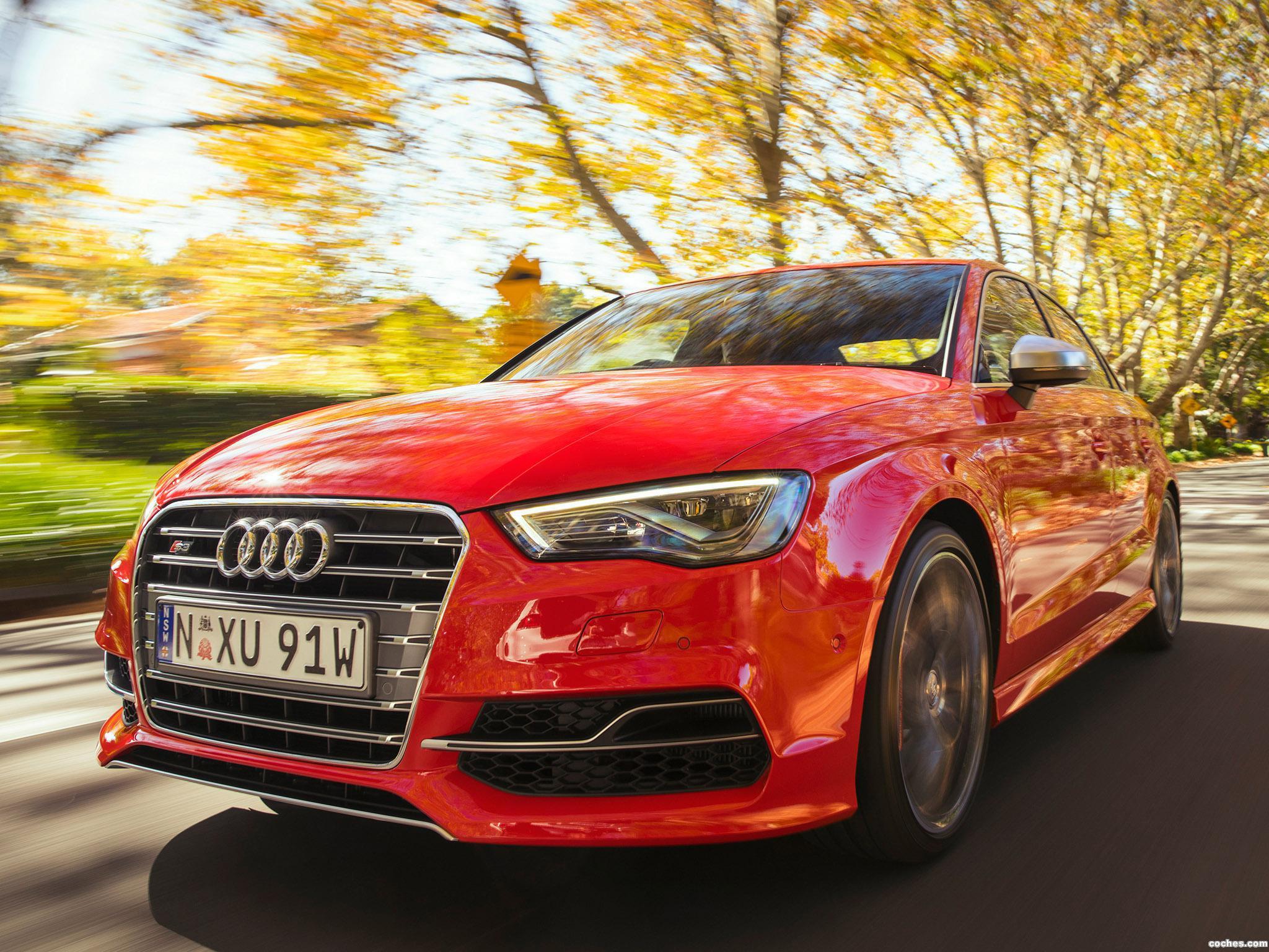 Foto 0 de Audi S3 Sedan Australia 2014