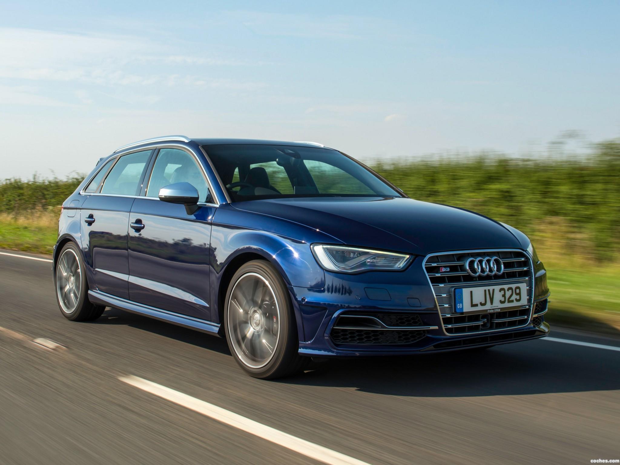 Foto 0 de Audi S3 Sportback UK 2013