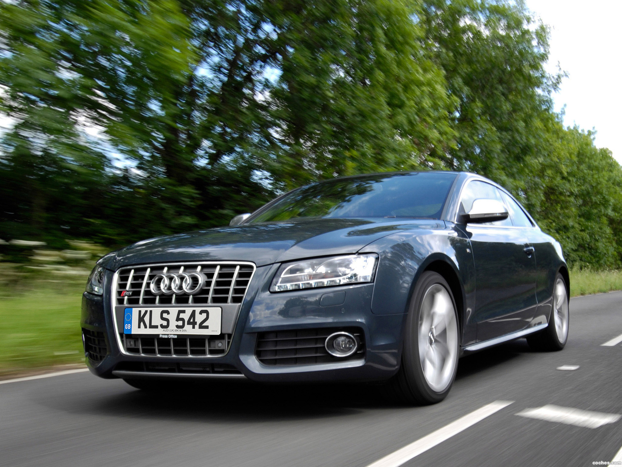 Foto 0 de Audi S5 Coupe UK 2008