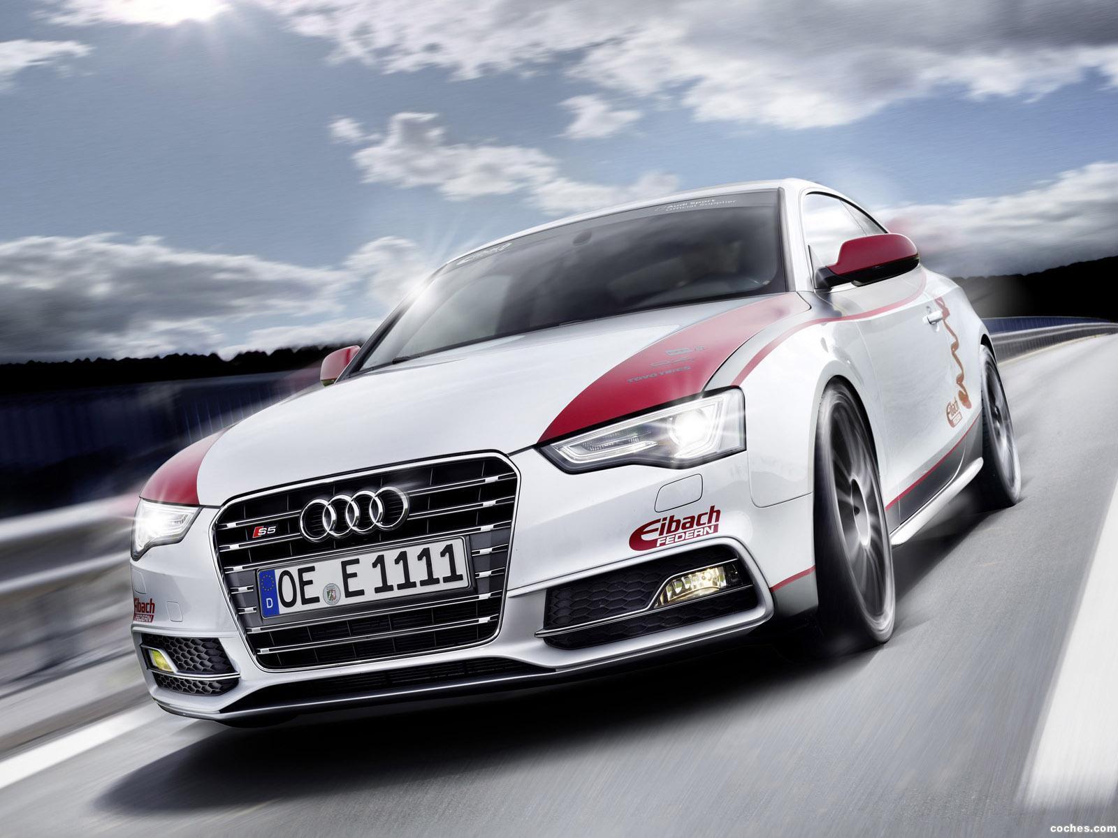 Foto 0 de Audi S5 Eibach Project Car 2012