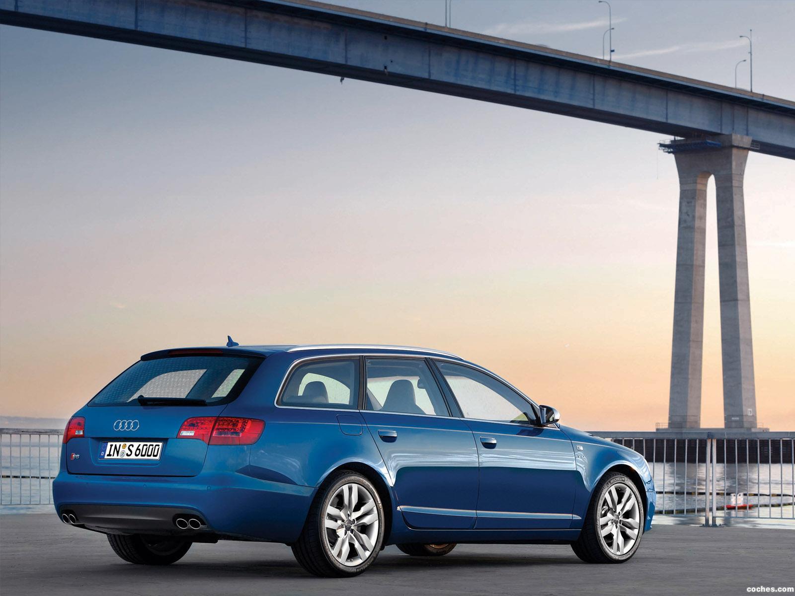 Foto 11 de Audi S6 Avant 2006