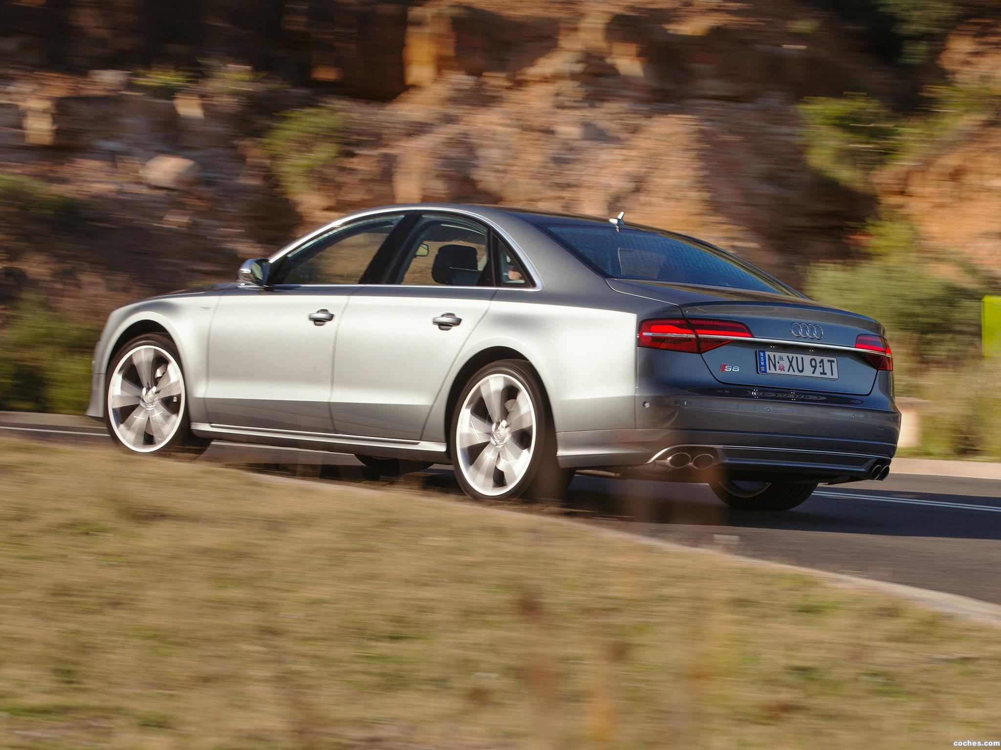 Foto 2 de Audi S8 D4 Australia 2014