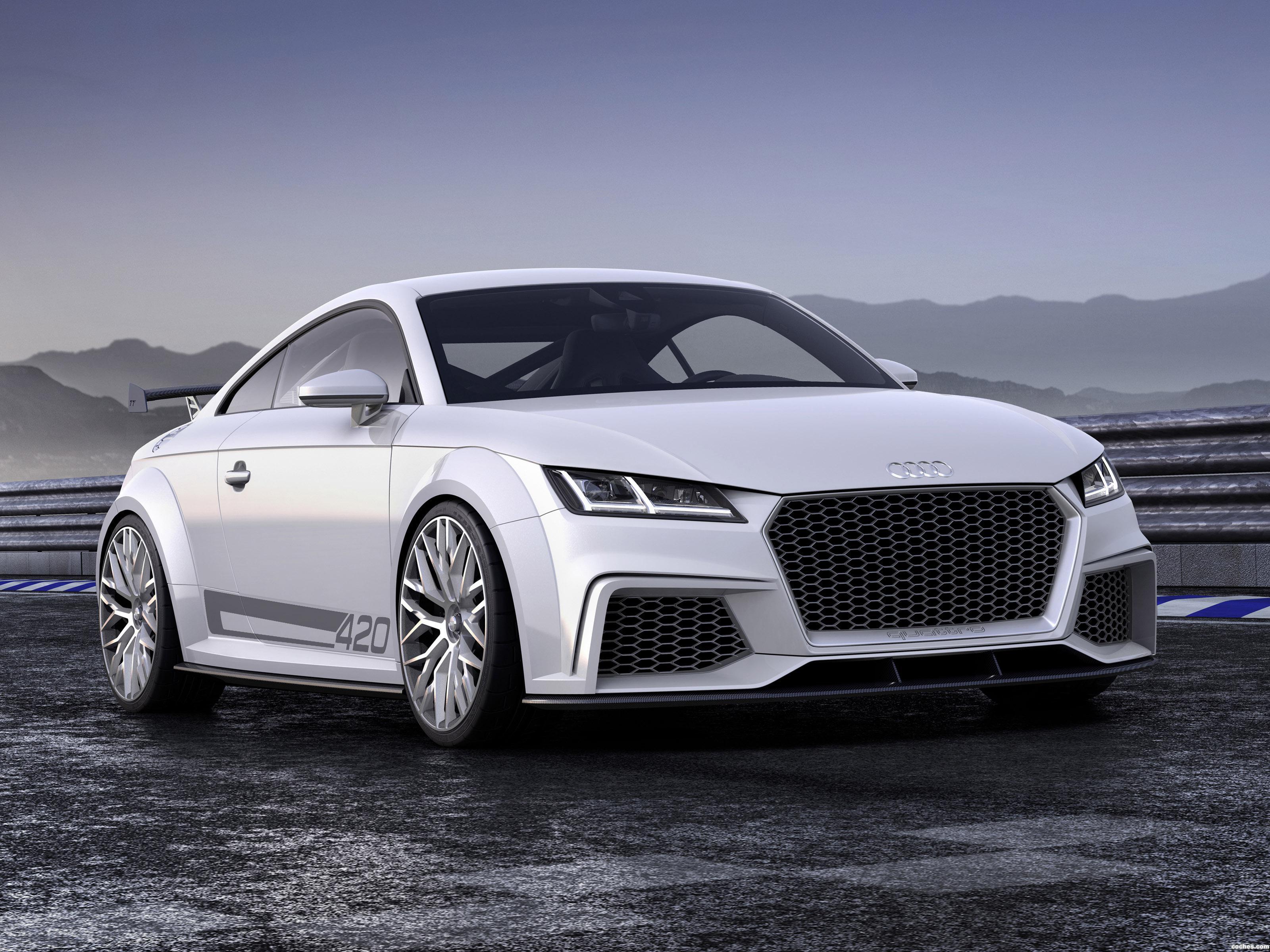 Foto 0 de Audi TT Quattro Sport Concept 2014