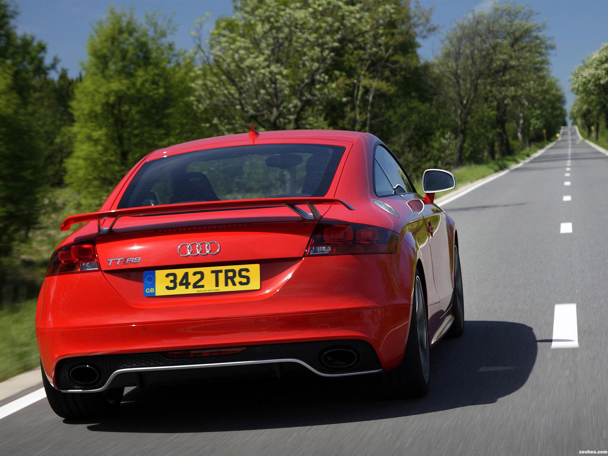 Foto 7 de Audi TT RS Coupe UK 8J 2009