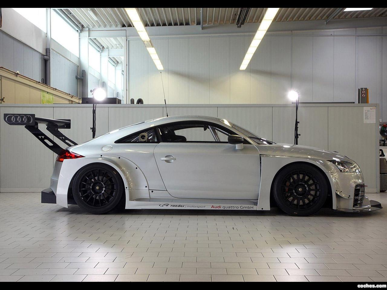 Foto 2 de Audi TT RS DTM 2010