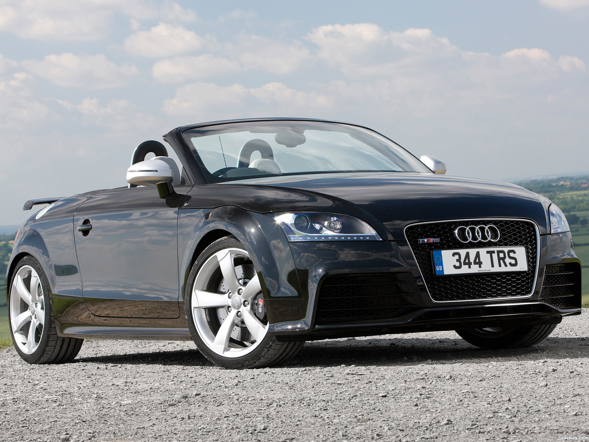 Foto 0 de Audi TT RS Roadster UK 8J 2009