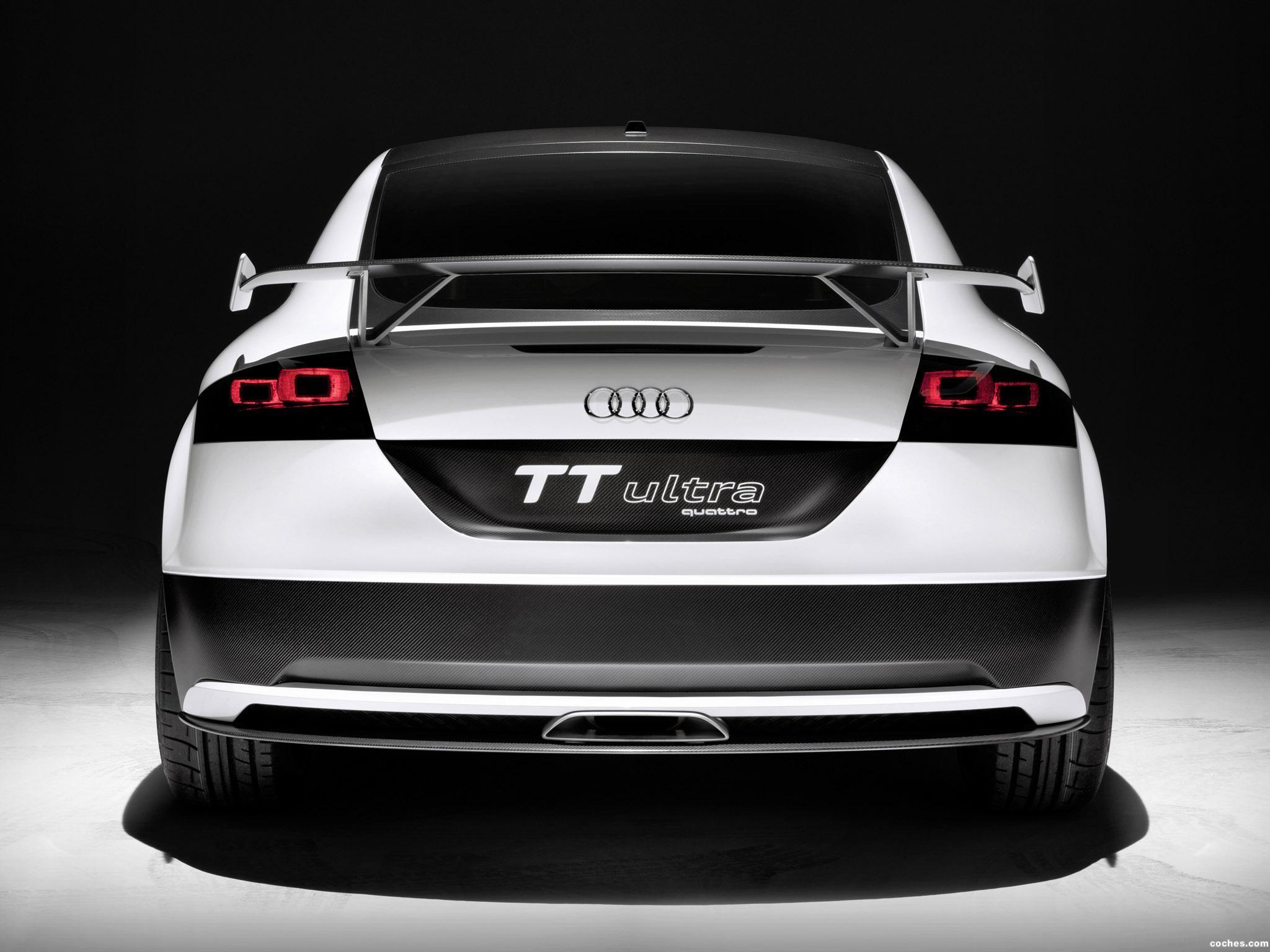 Foto 5 de Audi TT Ultra Quattro Concept 2013