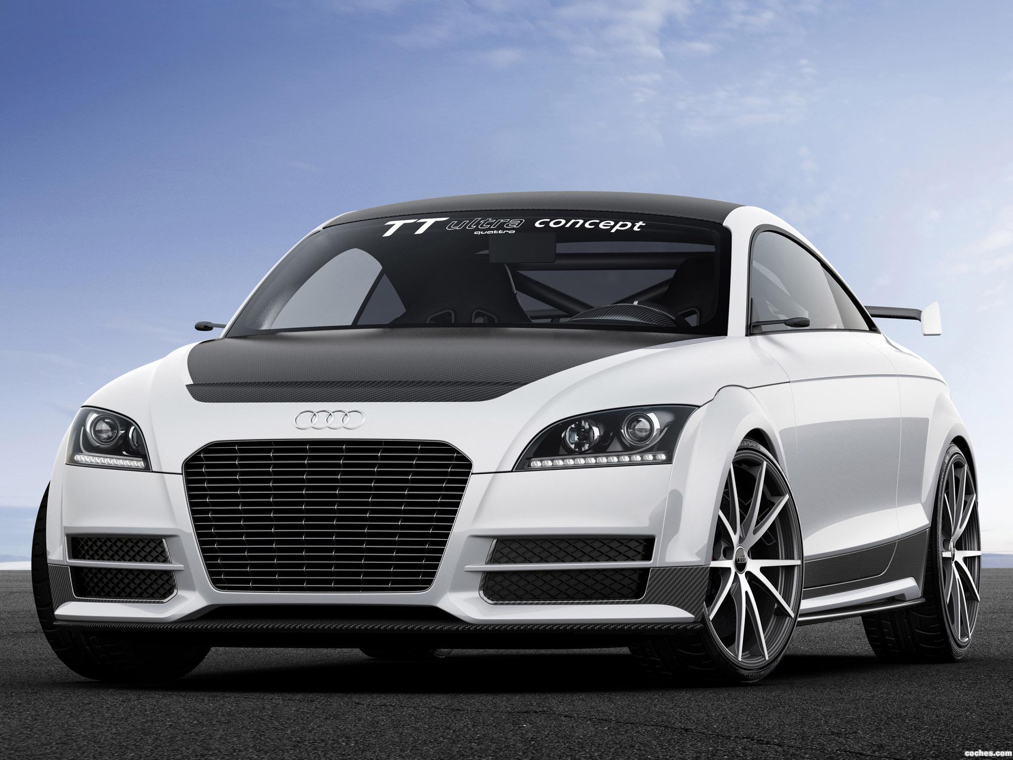 Foto 11 de Audi TT Ultra Quattro Concept 2013