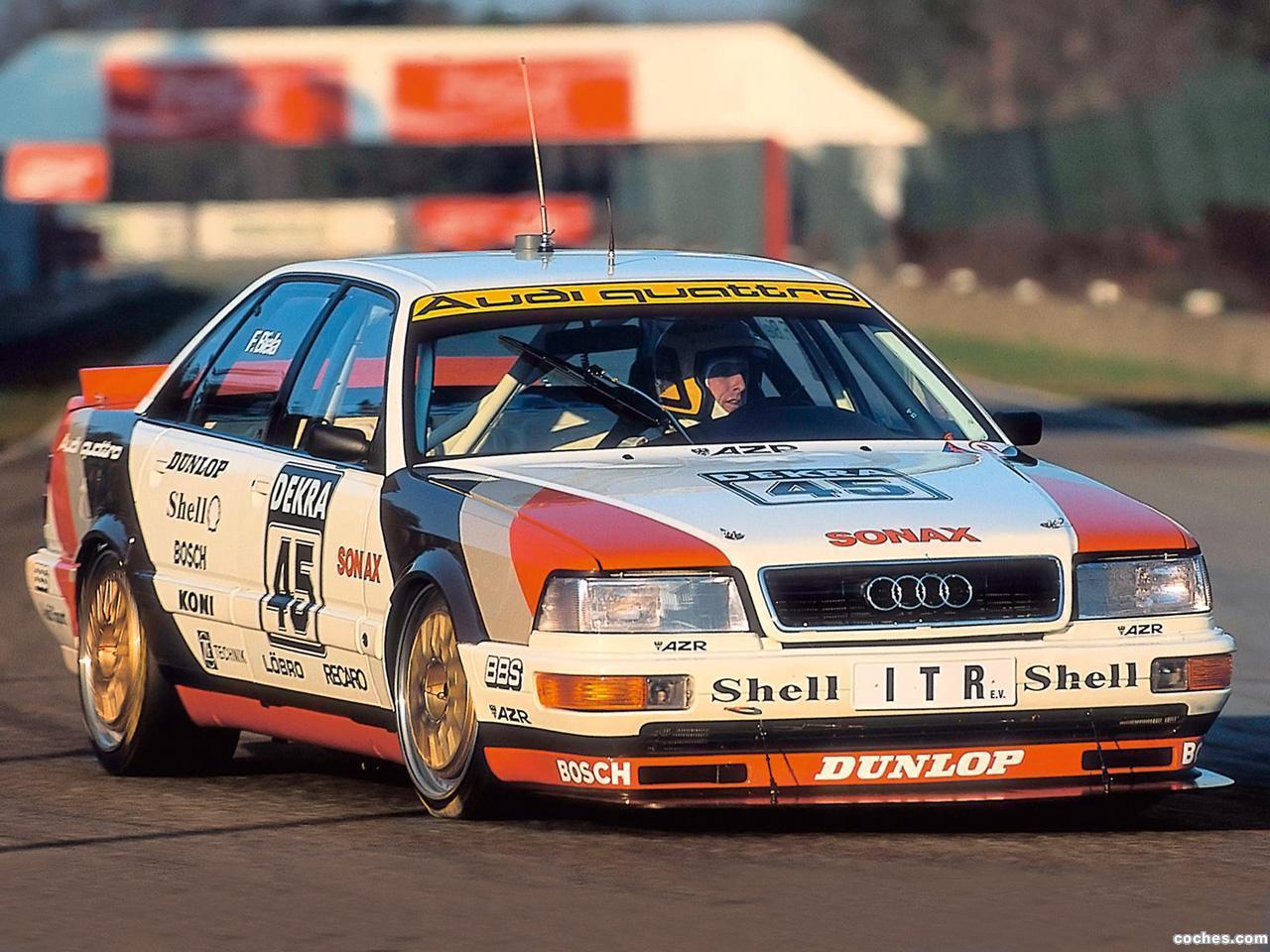 Foto 0 de Audi V8 Quattro DTM 1990