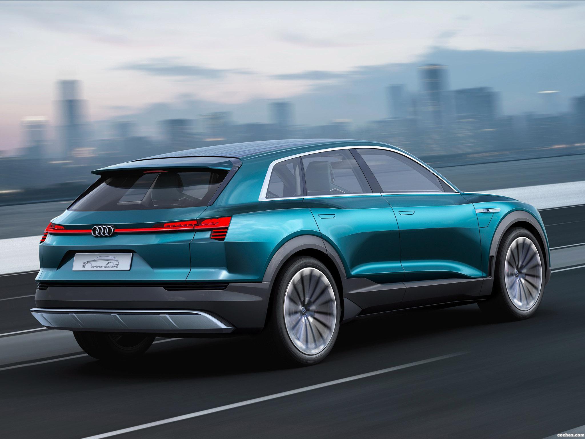 Foto 13 de Audi e-Tron Quattro Concept  2015