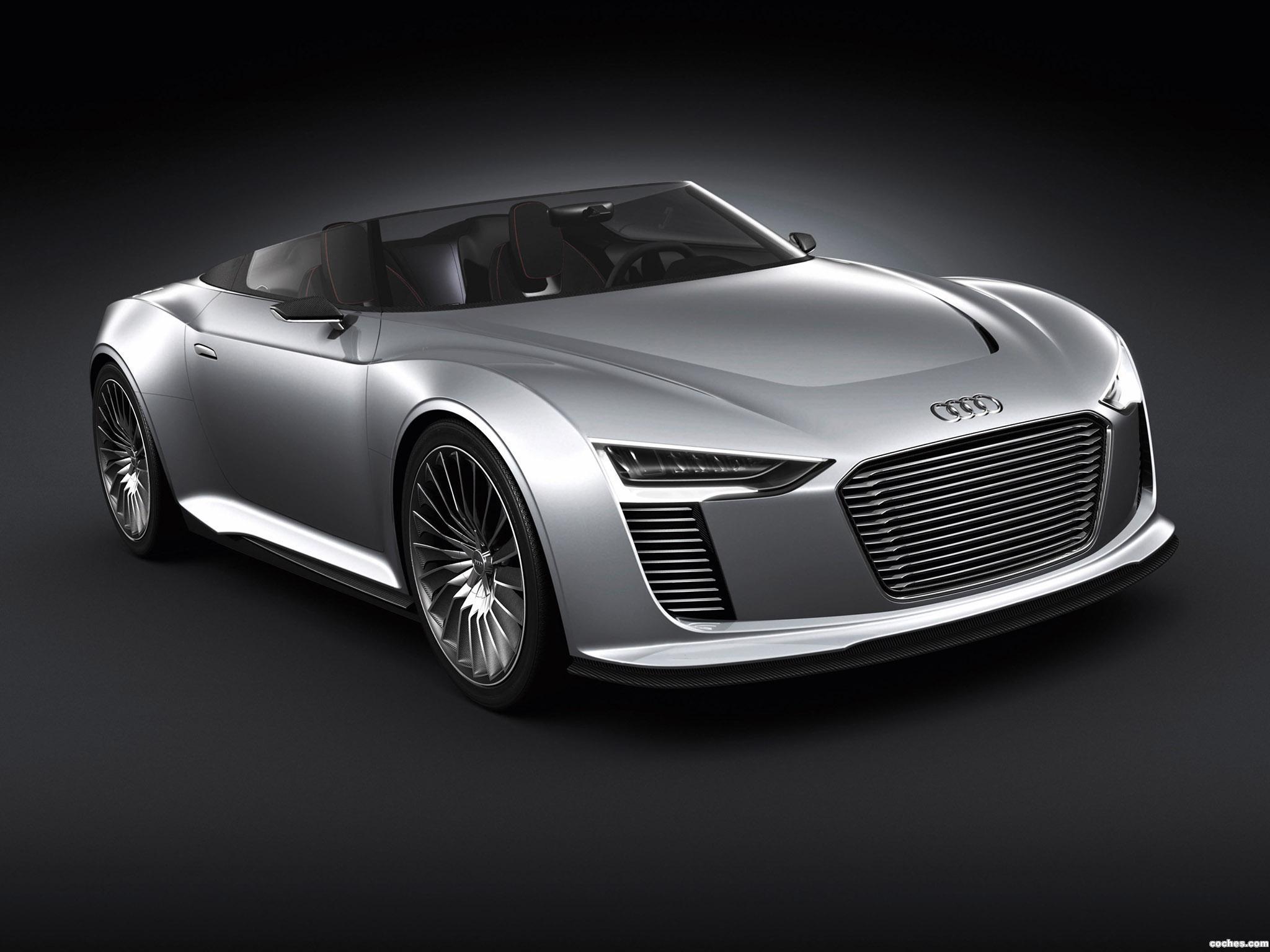 Foto 0 de Audi E-Tron Spyder Concept 2010