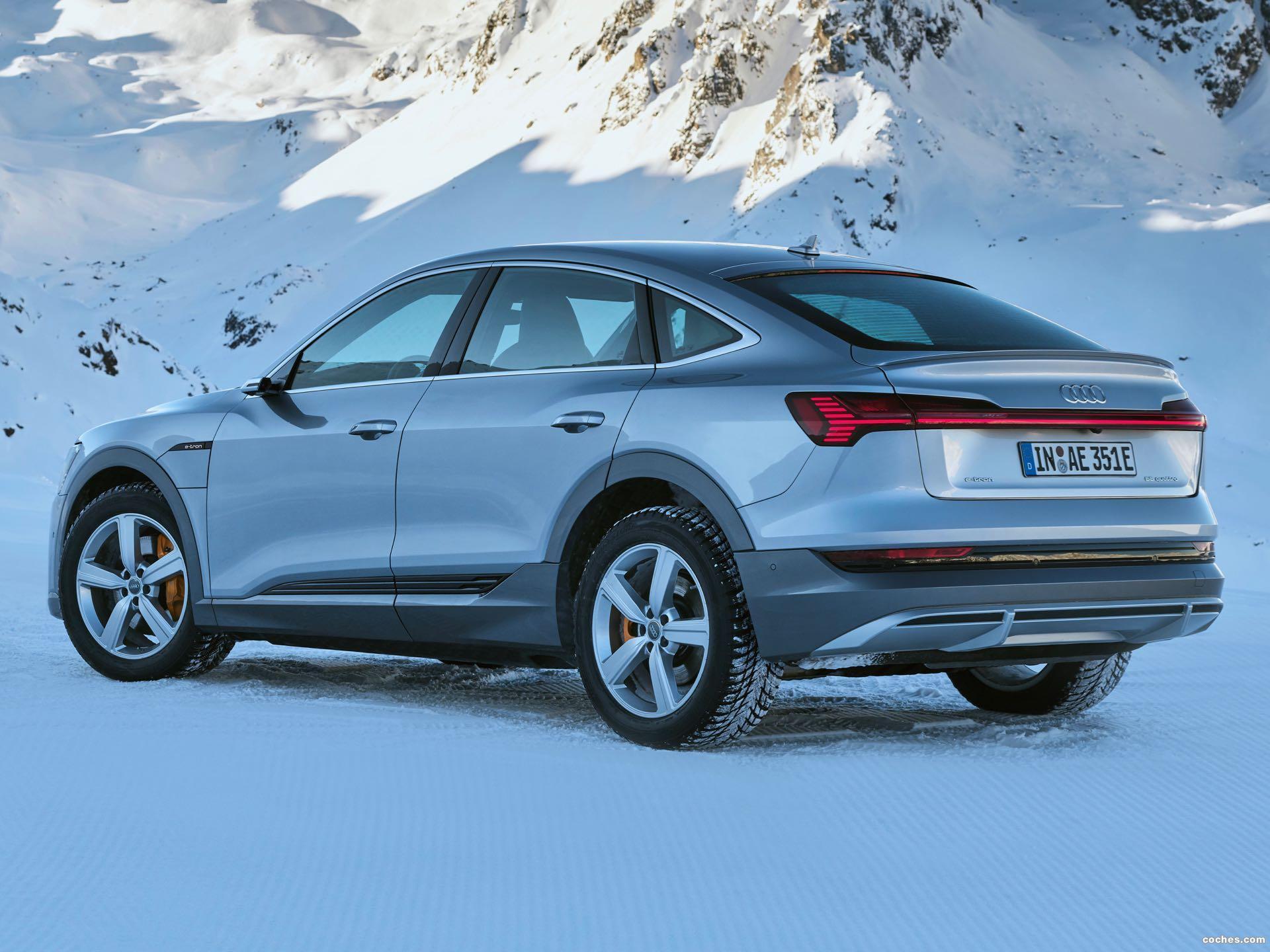 Foto 34 de Audi e-tron 55 quattro Sportback S line 2020