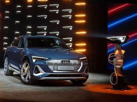 Ver foto 25 de Audi e-tron 55 quattro Sportback S line 2020